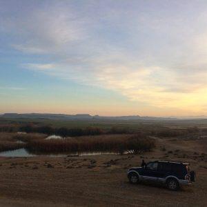 Sunset guided tour ! desert navarra bardenas spain experiencehellip