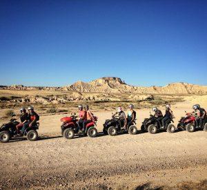 Quad Bardenas  aventure bardenas desert navarre eventplanner tudelahellip