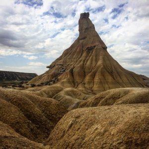 Bardenas landmark !  desierto bardenasreales tudela arguedas spain instatravelhellip